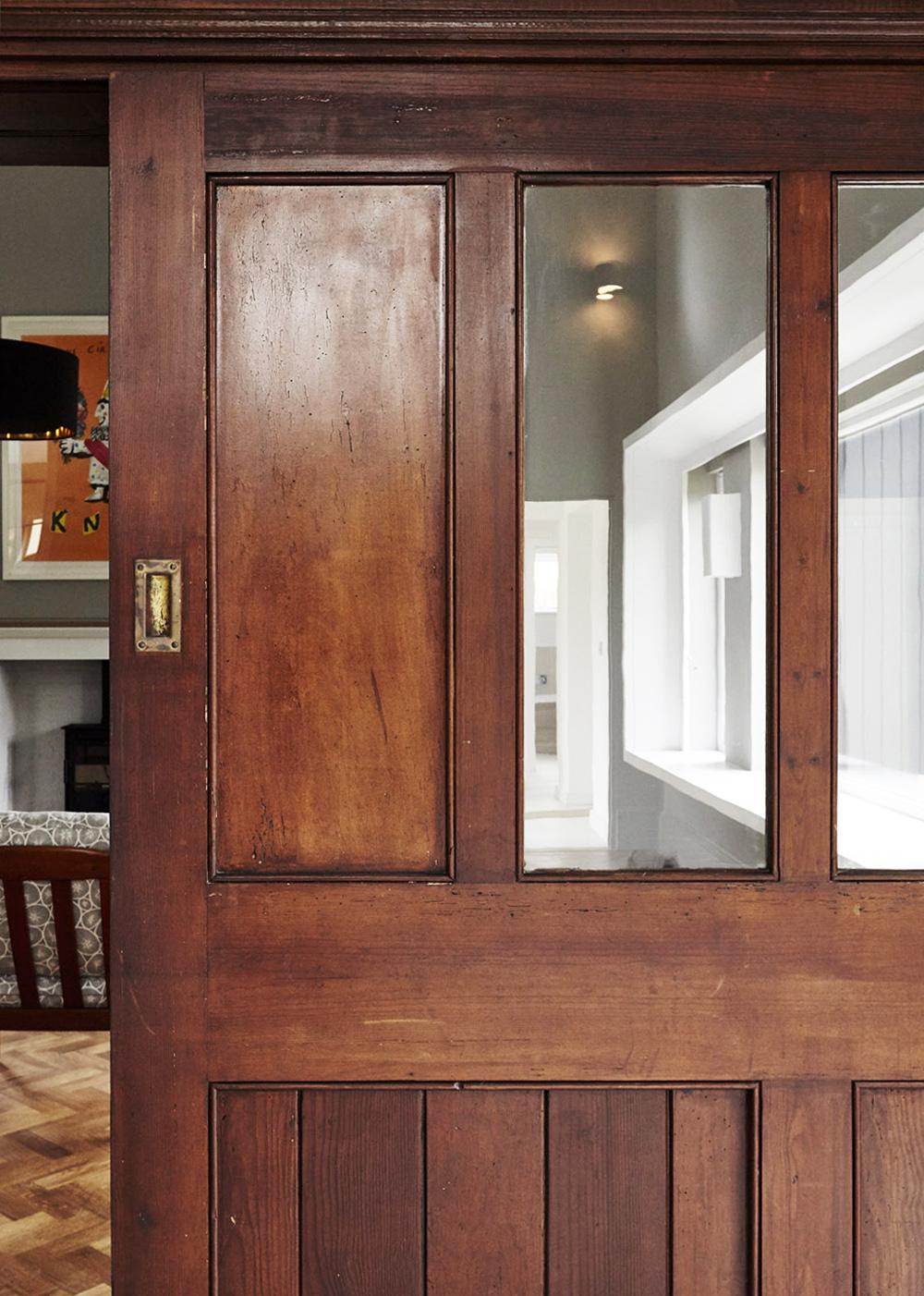 Existing sliding door